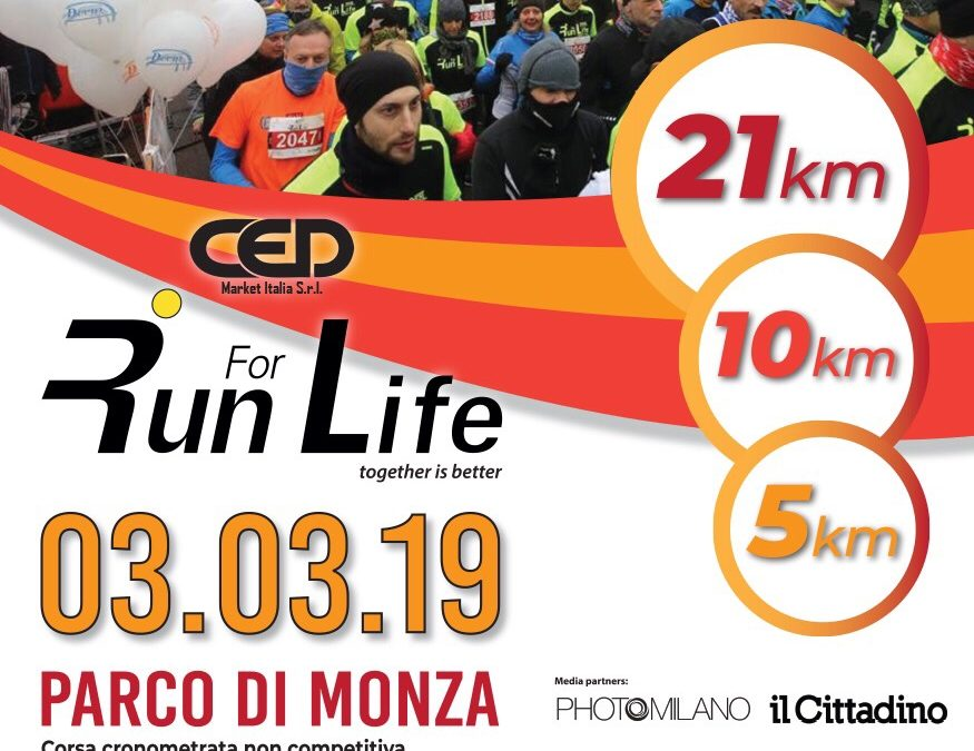 03 Marzo 2019 • Run For Life