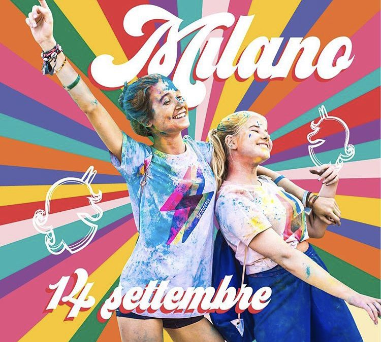 14 Settembre 2019 • The Color Run 2019